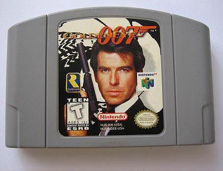 Goldeneye 007-cartridge voor Nintendo 64