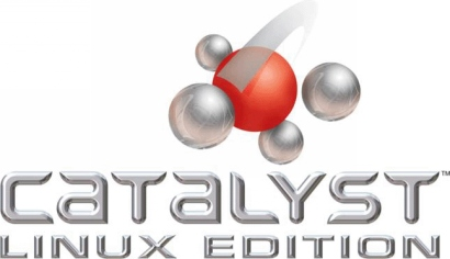 ATi Catalyst  Linux Display Driver logo (410 pix)