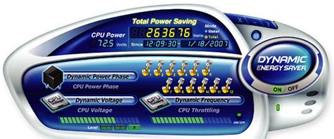 Gigabyte Dynamic Energy Saver software