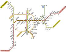 Metrokaart Brussel