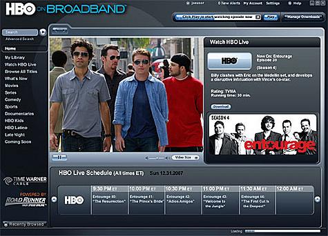 HBO on Broadband