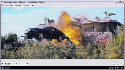 Media Player Classic screenshot (410 pix)