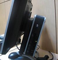 HP Compac DC7800 met 16GB ssd