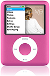Apple iPod nano pink