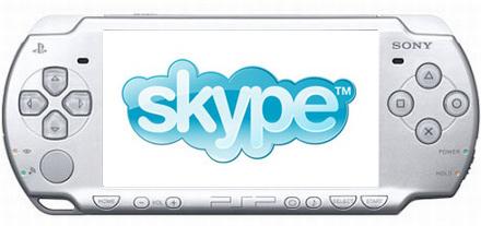 Skype op de Playstation Portable