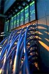 Netwerkkabels met server