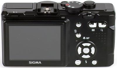 Sigma DP1 achterkant