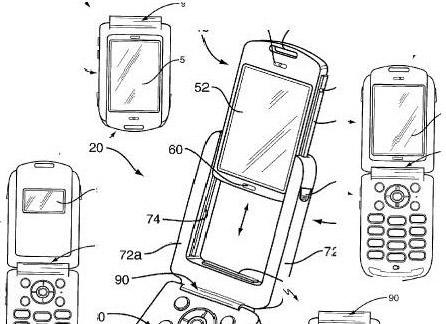 Sony Ericsson clamshell-mobiel met verwijderbaar scherm