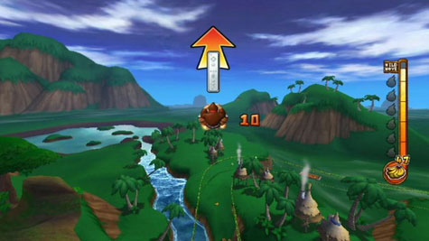 Donkey Kong: Jet Race - screenshot