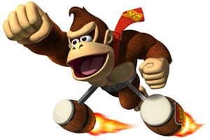 Donkey Kong: Jet Race - render