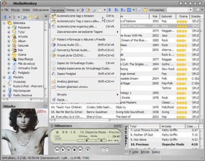 MediaMonkey screenshot (410 pix)