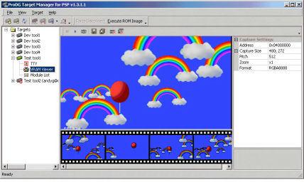 Playstation Portable development tool