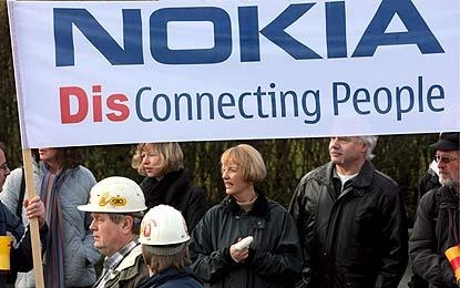 Nokia Disconnecting