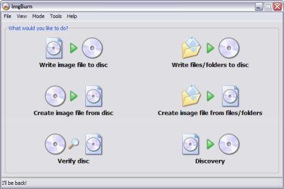 ImgBurn 2.4.0.0 openingsscherm (410 pix)