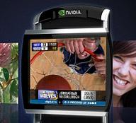 Nvidia APX 2500 mobile videochip