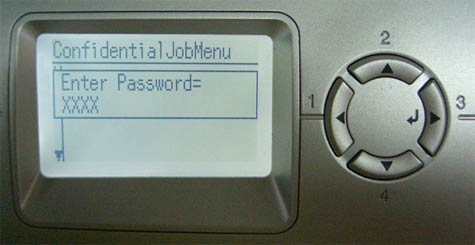 Epson printer control