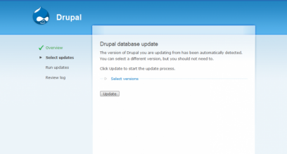 Drupal 6.0 screenshot (410 pix)