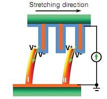 Interactie tussen ZnO-nanodraden met en zonder goudcoating
