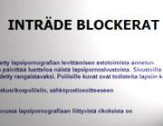 Kinderporno geheime blacklist Finland