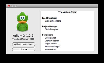 Adium X 1.2.2