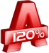 Alcohol 120% logo (75 pix)