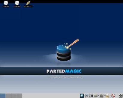 Parted Magic screenshot (410 pix)