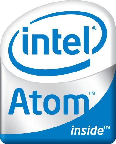 Intel Atom-badge