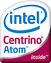 Intel Atom Centrino-badge