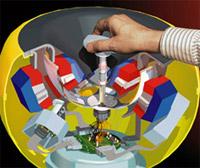 Magnetic Levitation joystick Carnagie Mellon groter