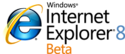 Internet Explorer 8 beta logo