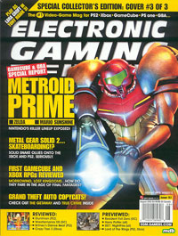 Oude cover van Electronic Gaming Weekly