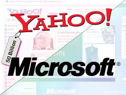 Yahoo en Microsoft