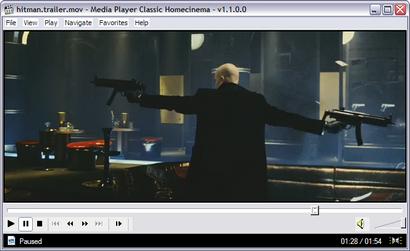 Media Player Classic HomeCinema 1.1.0.0 screenshot (410 pix)
