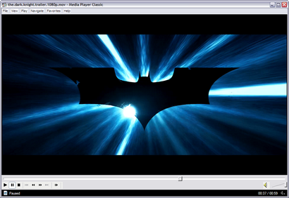 Media Player Classic screenshot (410 pix)