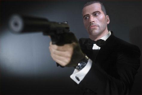 Commander Shepard als James Bond