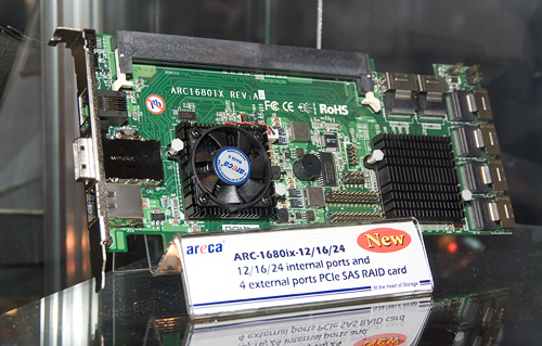 Cebit 2008: Areca ARC-1680ix