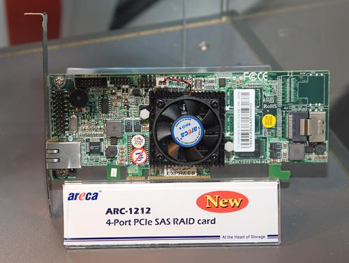 Cebit 2008: Areca ARC-1212