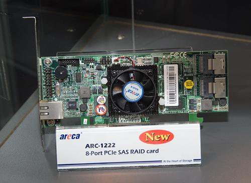 Cebit 2008: Areca ARC-1222