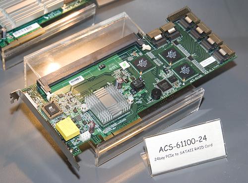 Cebit 2008: Accusys ACS-61100-24