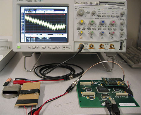 De gebruikte afluisterapparatuur en een icd
