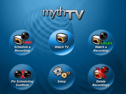 MythTV screenshot (410 pix)
