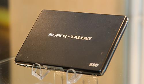 Cebit 2008: Super Talent externe ssd