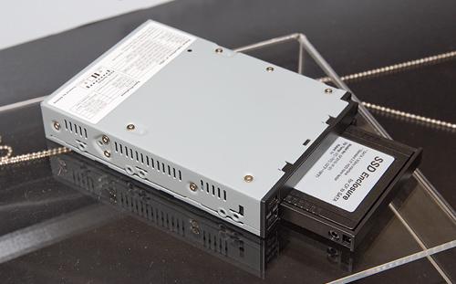 Cebit 2008: Stardom 3,5 inch hotswap bay voor 2,5 inch schijven