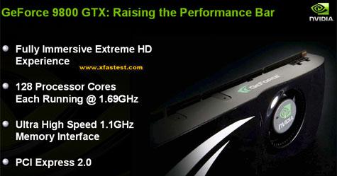 Uitgelekte slide met details over de Geforce 9800GTX