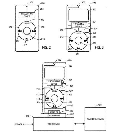 Afstandsbediening voor Apple TV (patentaanvraag)