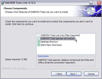 Daemon Tools 4.12.2 - installatie (410 pix)