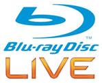 Combinatie van blu-ray en Xbox Live logo