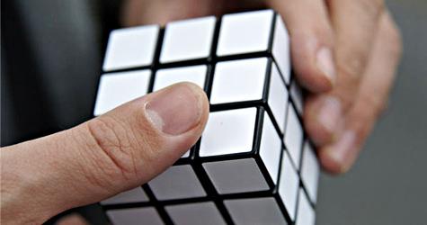 Makkelijk oplosbare Rubik-kubus