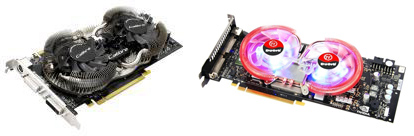 Sparkles Dual Fly Cooling System & Thermaltakes DuOrb