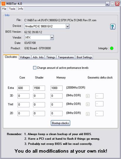 NiBiTor 4.0 screenshot (410 pix)